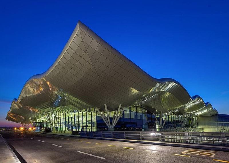 Новый терминал международного аэропорта в Загребе. Фотоисточник
