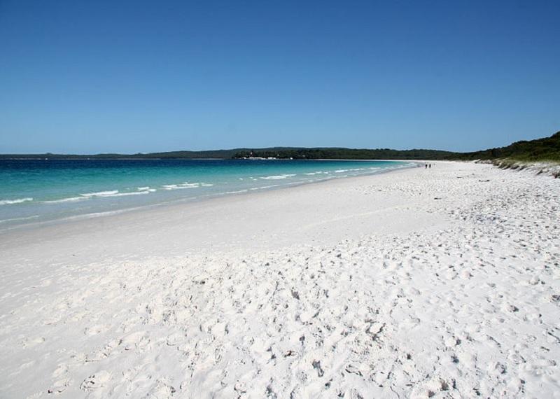 Белый пляж в Австралии. Фотоисточник
