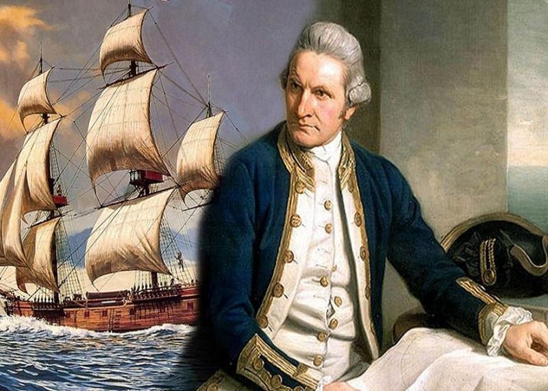Открытие Австралии, Джеймс Кук, Мореплаватель, географические открытия
