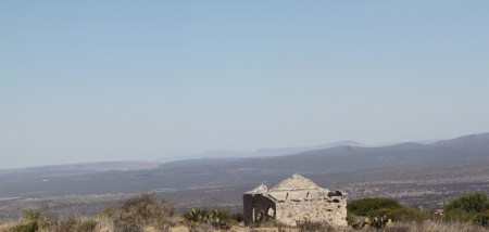 ruins for sale above Pozos