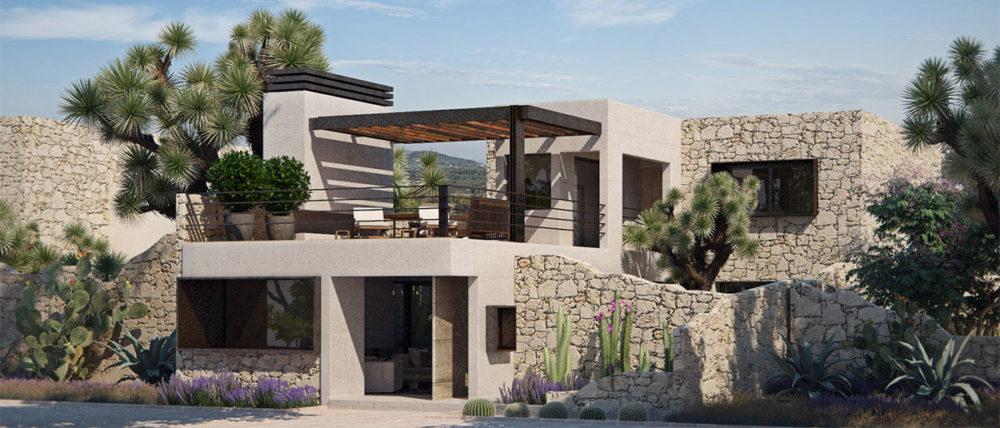 modern home in Potosina