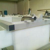 гальваническая ванна, полипропилен