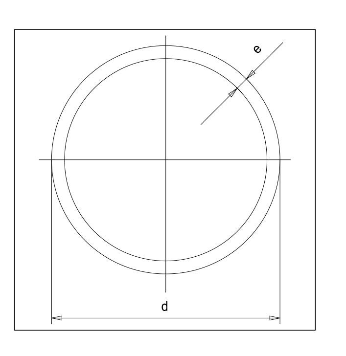 PP-H напорная труба полипропиленовая 10001216, 450мм * 11мм