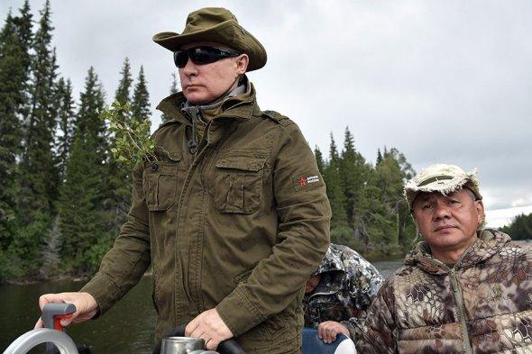 _n8a-qCdgUA Владимир Путин на отдыхе в Хакасии