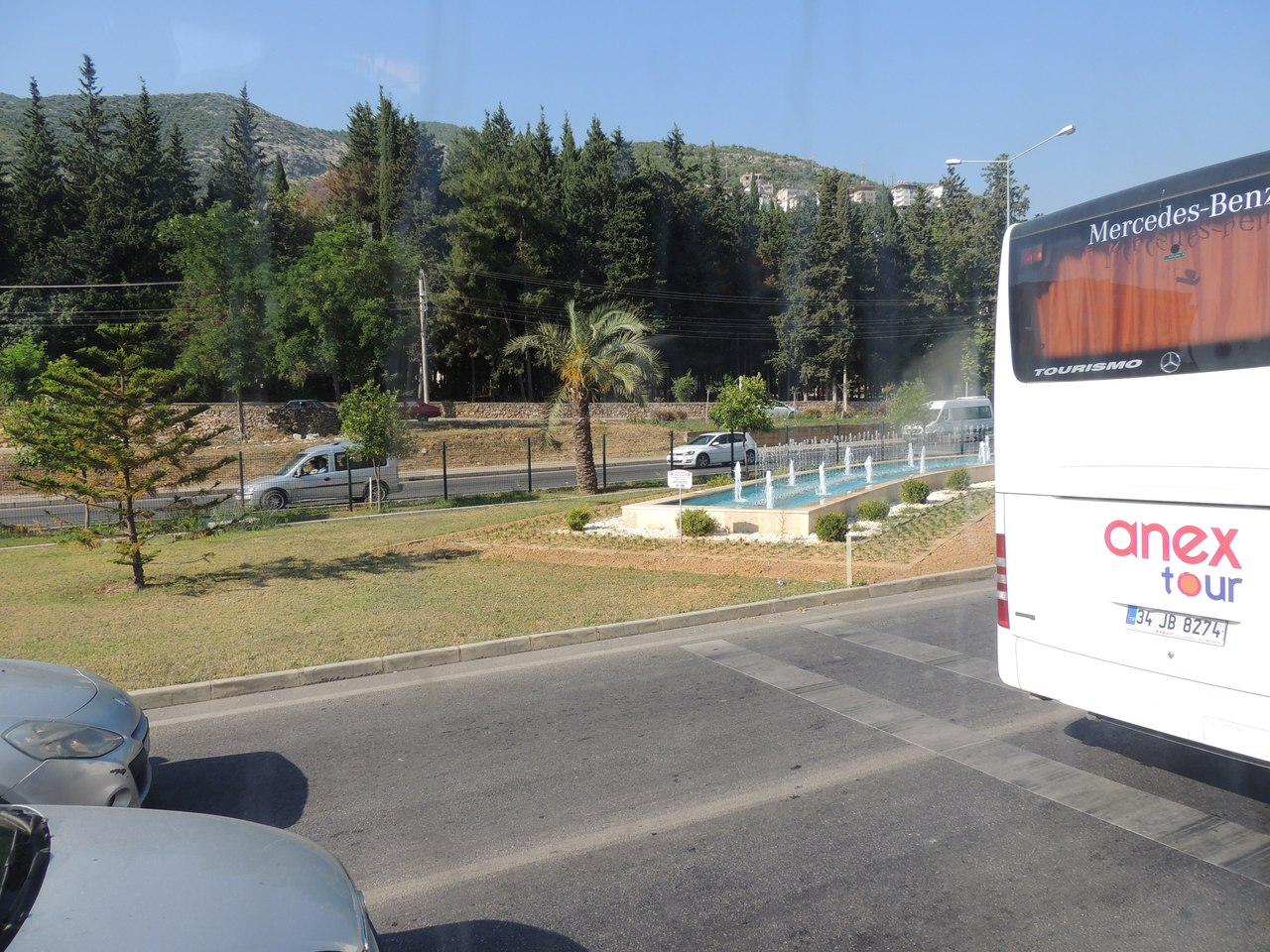 Дорога в Махмутлар. Турция.