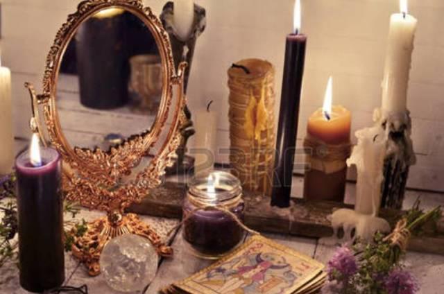 Черные свечи в магии
