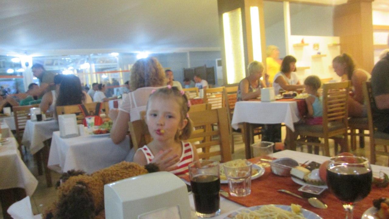 Питание в отеле Эфталия Резорт, Турция