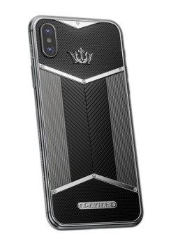 Телефоны бизнес класса Caviar iPhone X X-Edition Black White для мужчин