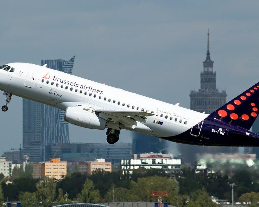 Sukhoi Superjet 100 в оригинальной ливрее