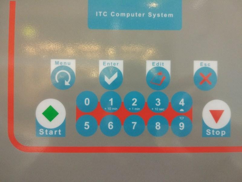 панель управления машины химчистки italclean глупость при первом взгляде