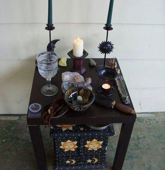 Алтарь ведьмы