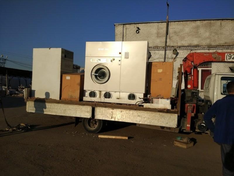 демонтаж и перевозка оборудования для химчистки
