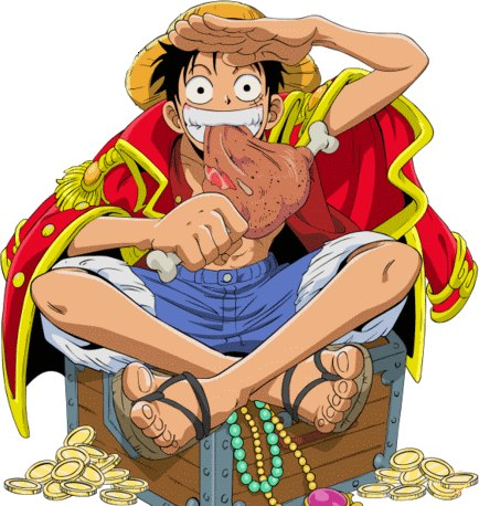 Tokoh Komik (manga) One Piece, Luffy