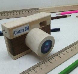 деревянный фотоаппарат сувенир, игрушка фотоаппарат, подарок фотографу, ручная работа, эко игрушка, натуральное дерево, подарок из дерева, натуральная игрушка