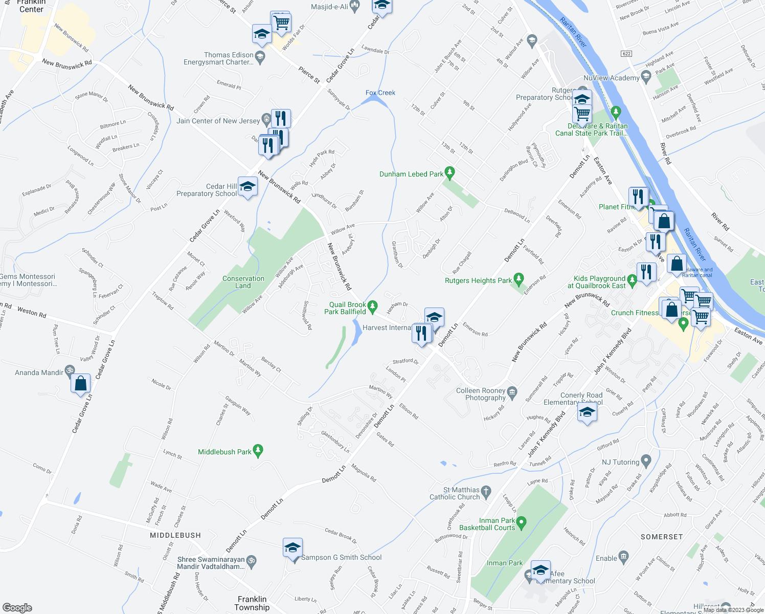 Me Restaurants Near 08873