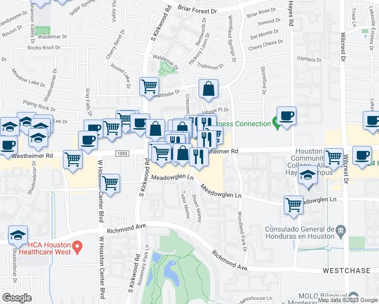Restaurants Near Me 77077