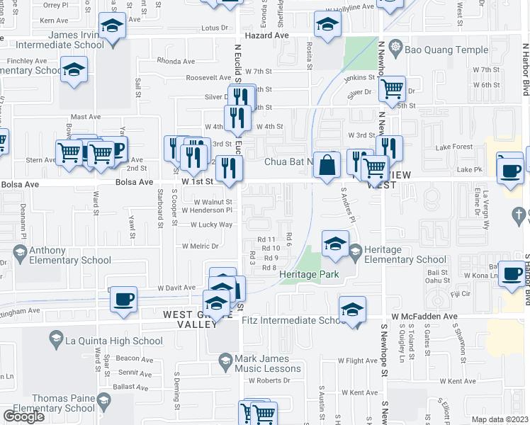 5126 West 1st Street Santa Ana Ca Walk Score