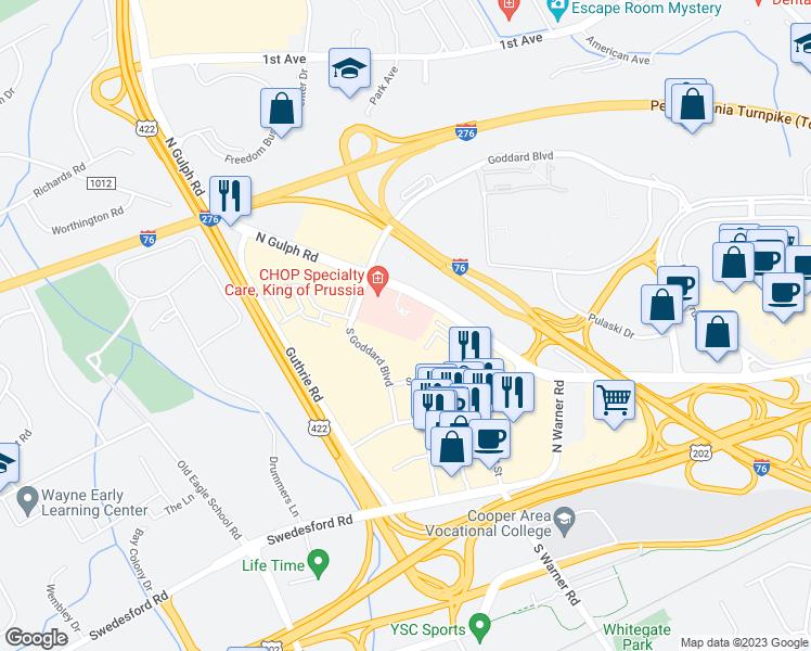 Restaurants Near Me King Prussia