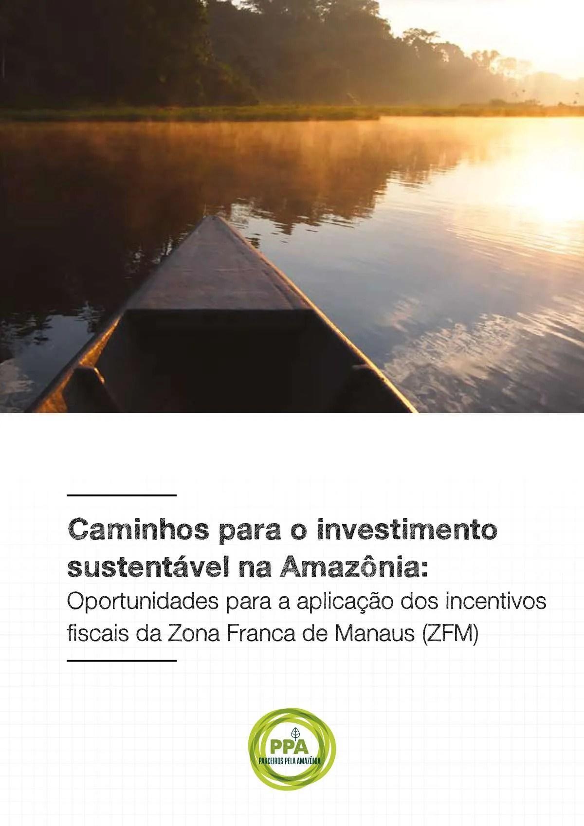 Caminhos para o investimento sustentável na Amazônia