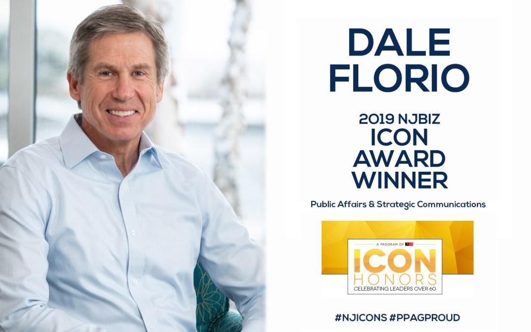 PPAG'SDale Florio Wins2o19 NJBIZ ICON Award