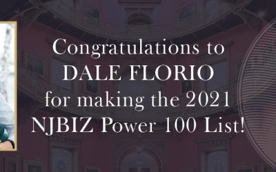 Congratulations to Dale Florio for making the 2021 NJBIZ Power 100 List!