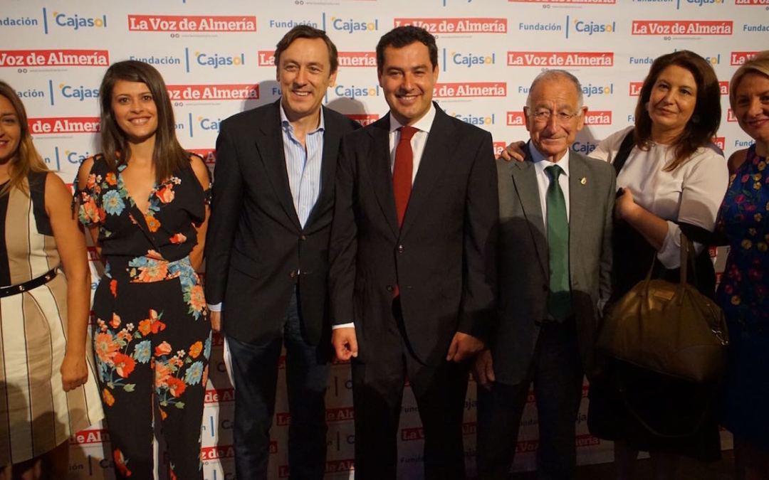 Juanma Moreno anuncia un gran centro de investigación en materia agroalimentaria con sede en Almería