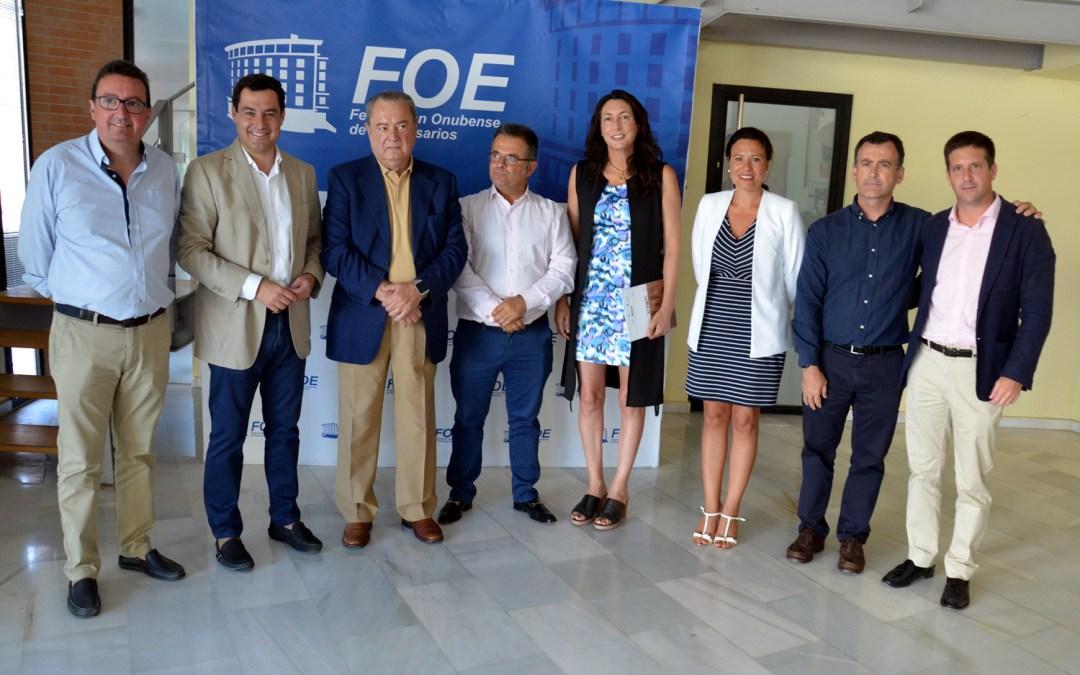 """Moreno denuncia """"la alianza de PSOE y Podemos contra Doñana"""""""