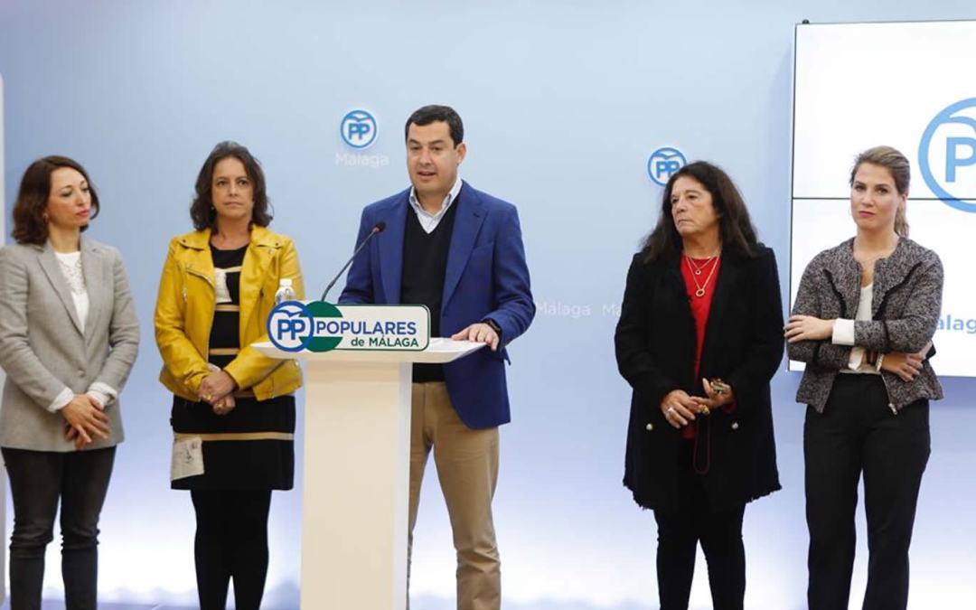 Moreno apuesta por eliminar la subasta de medicamentos para garantizar la igualdad con el resto de españoles