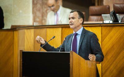 """Venzal: """"Desde el Parlamento exigimos al Gobierno de Sánchez que pague los 1.350 millones de los andaluces"""""""