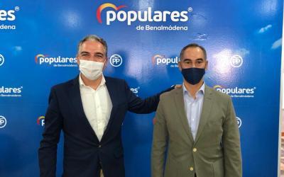 """Bendodo pide a Sánchez que copie el modelo andaluz de bajada de impuestos porque """"es lo que necesita España"""""""