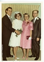 Peg, her mom and dad and me