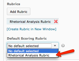 Connecting Rubric Points