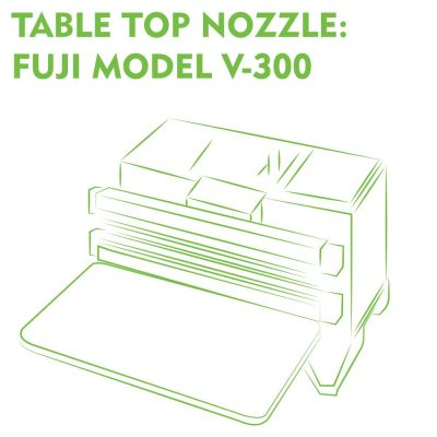 Table Top Nozzle Fuji Model V-300