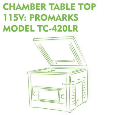 Chamber Table Top 115V Promarks Model TC-420LR