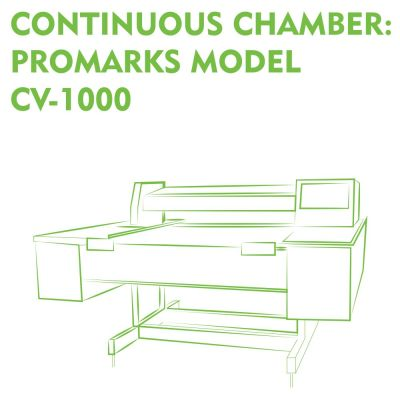 Continuous Chamber Promarks Model CV-1000