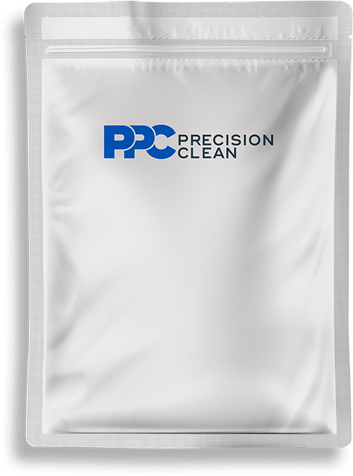 Precision Zip Clean Pouch PSD Mockup Waterfall