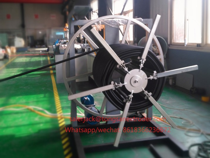 corrugated drain pipe machinery