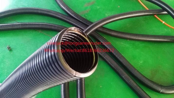 PA corrugated pipe extruder machine