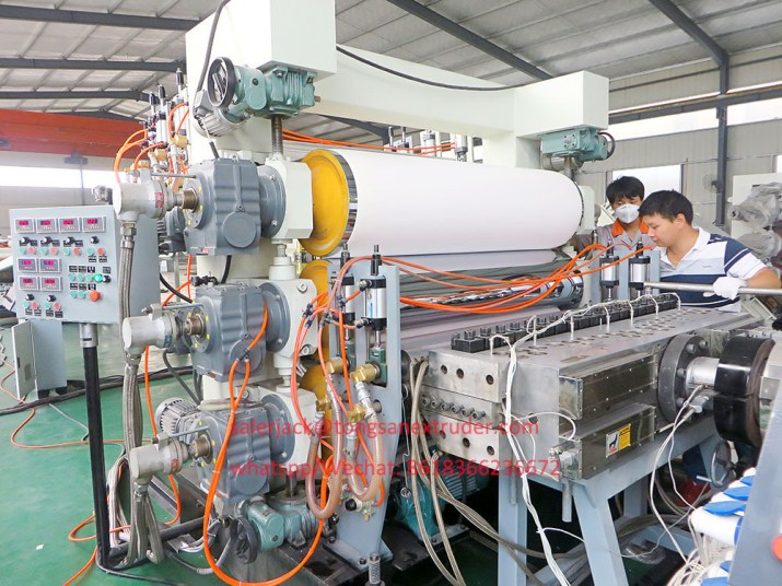 PVC free foam sheet machine