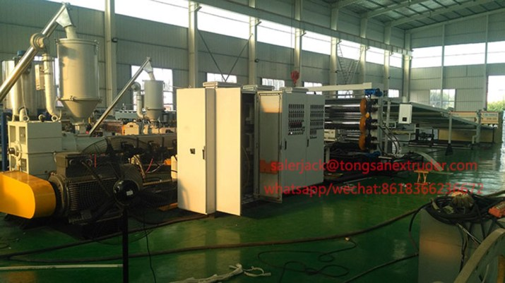 ABS PMMA sheet extrusion line