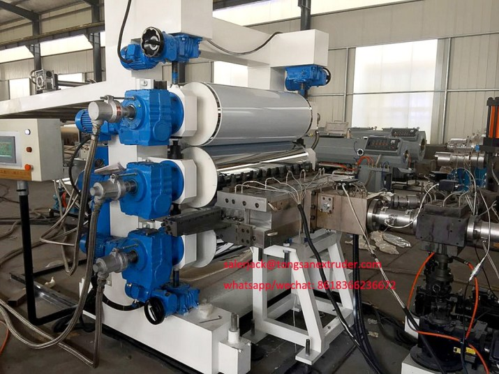 PP PS sheet extrusion machine