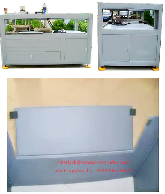 pp box window opening machine