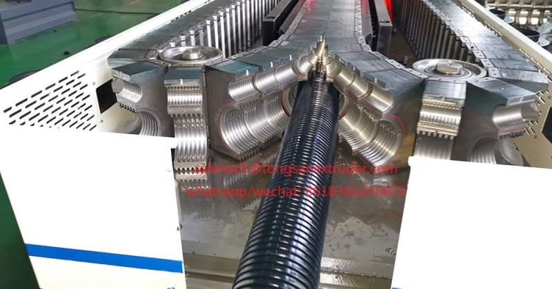 nylon corrugated pipe machine
