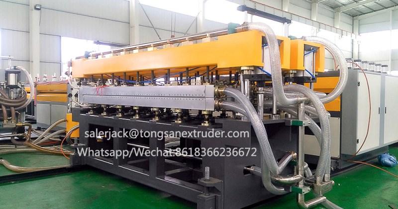 PP corflute sheet extrusion machine