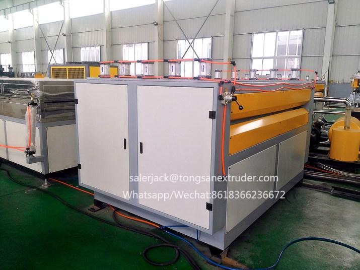 PP corrugated sheet making machine