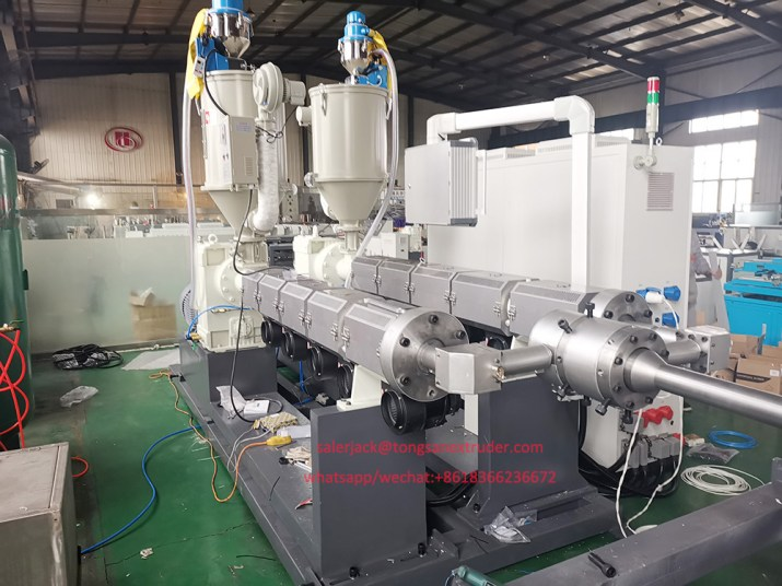 double wall corrugated pipe extruder