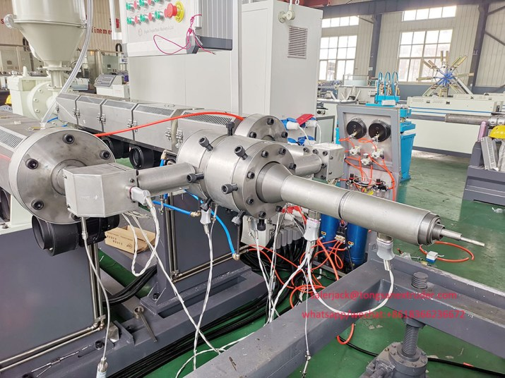 underground corrugated pipe making machine