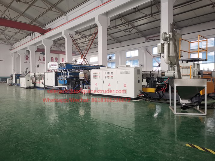 PP flute sheet extrusion line