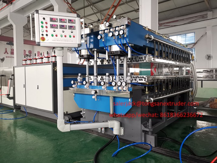 PP flute sheet machine