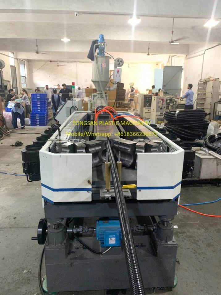 nylon polyamide corrugated pipe extruding machine